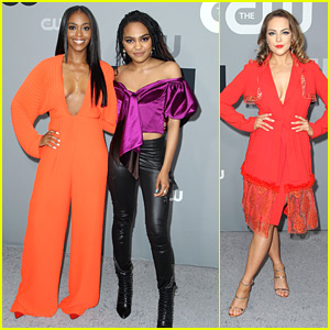 China Anne McClain, Nafessa Williams & Elizabeth Gillies Sizzle at CW Upfronts 2018