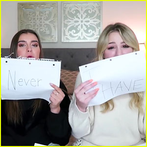 Chloe Lukasiak & Kalani Hilliker Play Never Have I Ever - Watch!