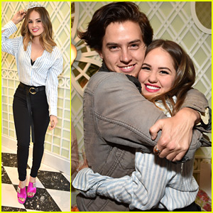 Cole Sprouse Helps Debby Ryan Celebrate Her 25th Birthday