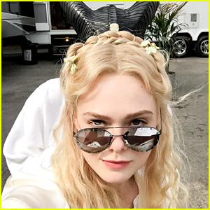 Elle Fanning Begins Filming the 'Maleficent' Sequel!