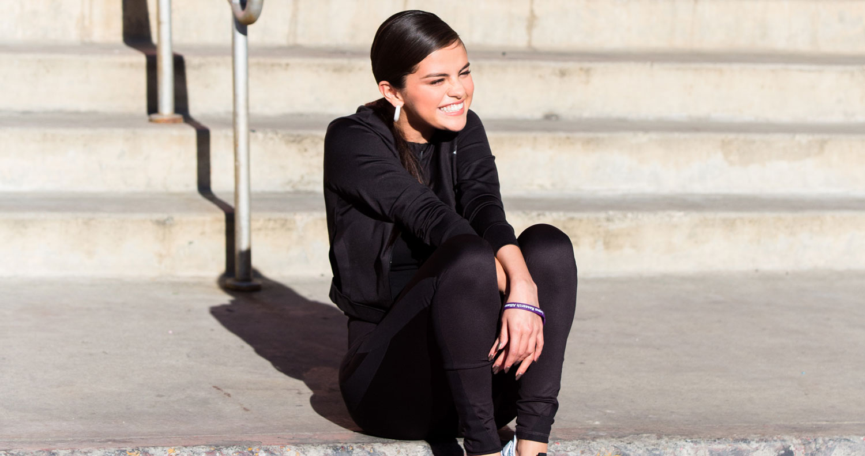 b44a0db844d31f Selena Gomez Jokes About Her Met Gala Look at Puma Defy Sneaker ...