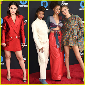 'Grown-ish' Cast Hits Up Freeform Upfronts 2018 Together