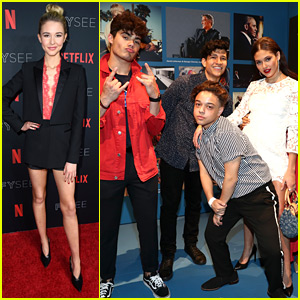 'Alexa & Katie's Isabel May & Emery Kelly Partied With The 'On My Block' Cast at Netflix's FYSee Party
