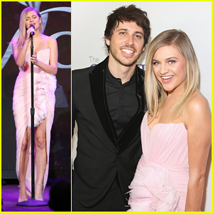 Kelsea Ballerini & Husband Morgan Evans Couple Up For Gracie Awards 2018