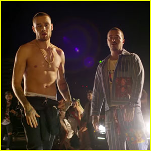 Liam Payne Gets Shirtless in 'Familiar' Music Video With J Balvin - Watch!