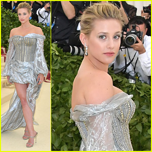 Get All The Details Behind Lili Reinhart's Debut Met Gala Look!