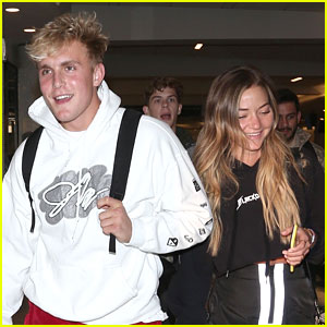 Jake Paul & Erika Costell Step Out After Making Their Relationship Official