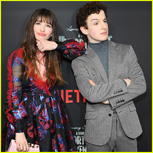 Malina Weissman & Louis Hynes Wrap Filming on 'A Series of Unfortunate Events'