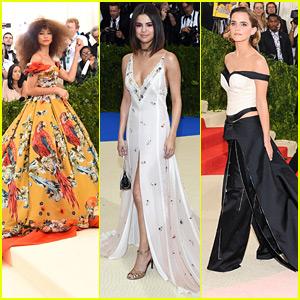 Met Gala Flashback - See What Zendaya, Selena Gomez, Emma Watson & More Wore In Years Past