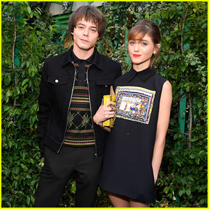 Natalia Dyer & Charlie Heaton Look Picture-Perfect at Christian Dior Event!