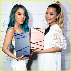 Niki & Gabi Launch Their New Bellami Hair Collection With Chic Party in LA!
