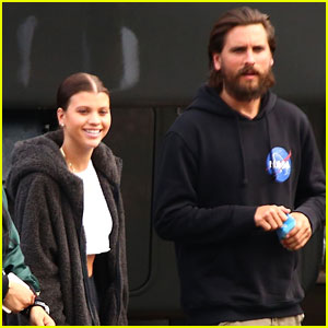 Sofia Richie Supports Dad Lionel at 'American Idol' with Boyfriend Scott Disick!