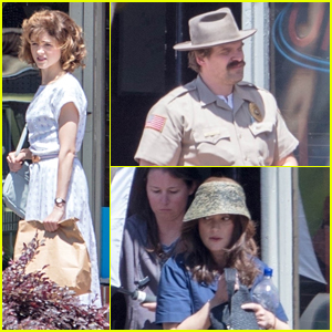 Natalia Dyer Gets to Work on 'Stranger Things' in New Set Pictures!