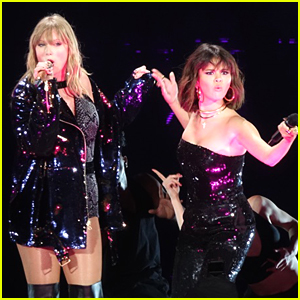 Taylor Swift is Joined by BFF Selena Gomez During Reputation Tour Show!