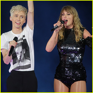 Troye Sivan Makes Surprise Appearance at Taylor Swift Concert!