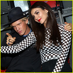 Victoria Justice & Cody Simpson Snap Silly Selfies at Vigo Video Launch Party