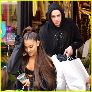 Ariana Grande Goes on NYC Shopping Spree with Pete Davidson!