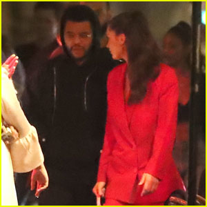 Bella Hadid & The Weeknd Have Another Date Night in Paris!