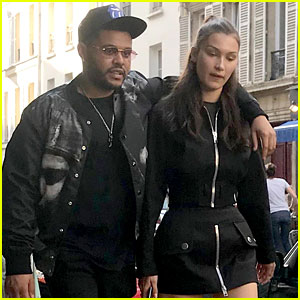 Bella Hadid Gets Cozy with The Weeknd in Paris!