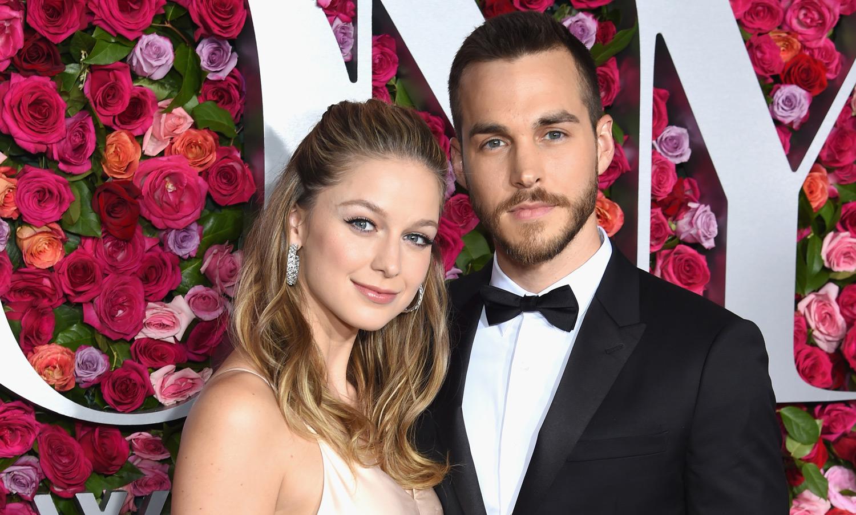Melissa Benoist Brings Boyfriend Chris Wood To Tony Awards
