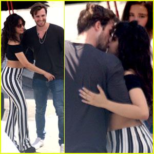 Camila Cabello Kisses Boyfriend Matthew Hussey in Spain!