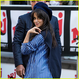 Camila Cabello Is Looking Cute While Visiting NRJ Radio in France!