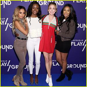 Candice Patton, Caity Lotz, Vanessa Morgan & Ashleigh Murray Hit PopSugar's Play/Ground Event