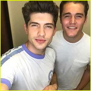 Carter Jenkins & Charlie DePew Say Goodbye to 'Famous In Love'