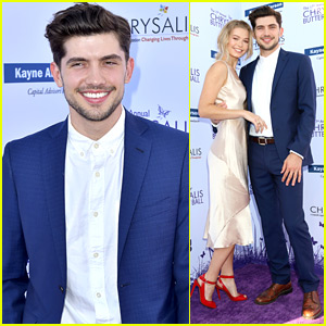 Carter Jenkins Couples Up With Girlfriend Sierra Swartz at Chrysalis Butterfly Ball 2018
