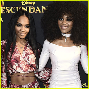 China Mcclain Gets Matching Siamese Twin Tattoo With Sister Lauryn China Mcclain Lauryn Mcclain Tattoo Just Jared Jr