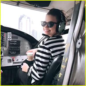 Dove Cameron, Sofia Carson, Sarah Jeffery & More 'Descendants 3' Stars Take Aerial Tour of Vancouver