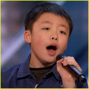 Jeffrey Li Gets Josh Groban's Approval After Singing 'You Raise Me Up' on 'AGT' (Video)