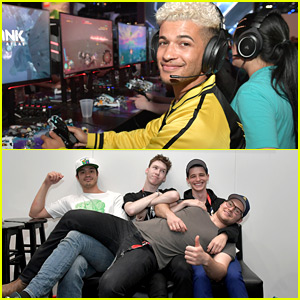Jordan Fisher Joins '13 Reasons Why' Stars at E3 Gaming Convention