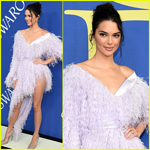 Kendall Jenner Wears Leg-Baring Dress at CFDA Fashion Awards 2018!
