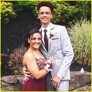 Laurie Hernandez Attends Prom With Her Lifelong Friend!