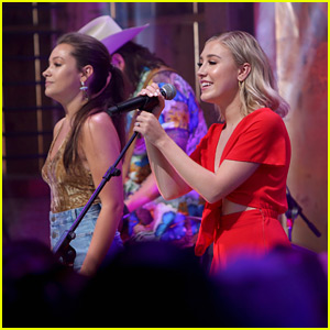 Maddie & Tae's Maddie Marlow Shows Off Sparkly Engagement Ring at CMA Fest 2018
