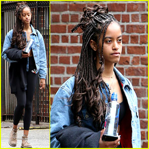 Malia Obama Spends Time in NYC After Freshman Year at