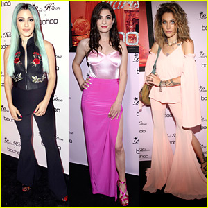 Niki DeMartino & Niki Koss Hit Boohoo's Paris Hilton Collection Launch Party