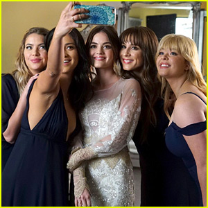 Lucy Hale & 'Pretty Little Liars' Fans Celebrate 8 Years of PLL On National Best Friends Day