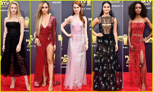 The Ladies of 'Riverdale' Represent the Show at MTV Awards 2018!