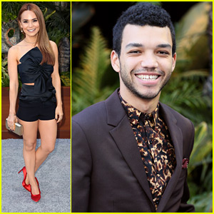 Rosanna Pansino Supports Justice Smith at 'Jurassic World: Fallen Kingdom' Premiere