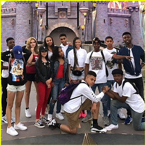 Storm Reid Celebrates Birthday Early at Disneyland With Friends