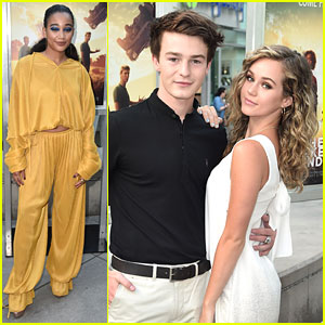 Amandla Stenberg Attends 'Darkest Minds' Screening with Brec Bassinger & Dylan Summerall