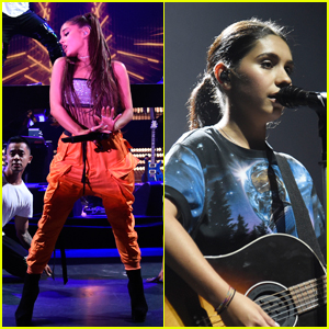 Ariana Grande, Alessia Cara & More Hit the Stage at Amazon Music Unboxing Prime Day Event in NYC!