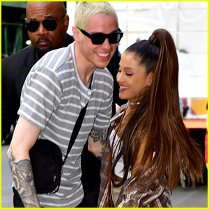 Ariana Grande & Pete Davidson Are Too Cute Together in These New Pics!