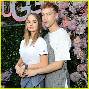 Debby Ryan & Tommy Dorfman Perfect Their Prom Pose at Ugg's Global Campaign Launch Party