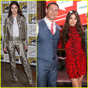 Hailee Steinfeld Rocks Two Stunning Looks at Comic-Con 2018!