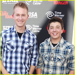 Jason Dolley & Bradley Steven Perry Reunite With 'Good Luck Charlie' Mom Leigh-Allyn Baker!