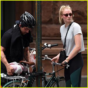 Joe Jonas & Sophie Turner Enjoy a Bike Ride Together in NYC!