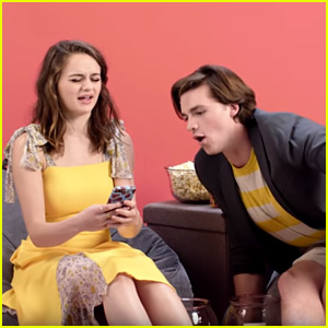 Joel Courtney Makes Joey King Text Someone She Hasn't Spoken To in Forever in a Game of Truth or Dare